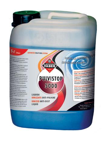 Liquido ionizzato anti-polvere